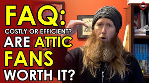 attic fans good or bad are attic fans worth it are they actually energy efficient attic
