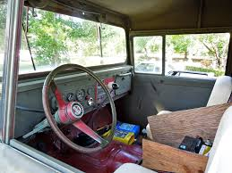 classic jeep interior kaiser jeep m715 interior aar0on flickr