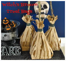 halloween party goody bags life with 4 boys diy witch u0027s broom halloween treat bags