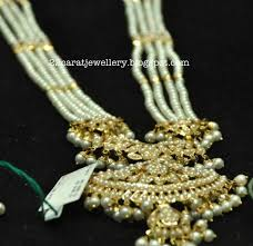long pearl chain necklace images Pearls long necklace set jewellery designs jpg