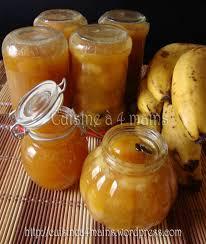 cuisiner des bananes confiture de bananes à la vanille cuisine à 4 mains