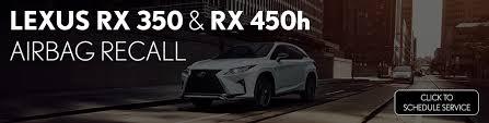 lexus rx 350 maintenance schedule lexus rx 350 rx 450h airbag recall