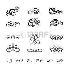 beautiful vintage vector decorative elements and ornaments for