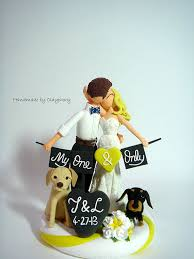 wedding cake topper with dog picking your wedding cake topper south jersey unveiled
