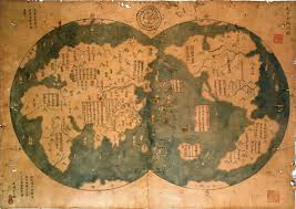 China World Map by Did Chinese Draw First Map Of World Through Zheng He U0027s Eyes During