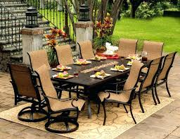 Outdoor Patio Table Set Bar Height Outdoor Dining Table Set 5 All Weather Wicker
