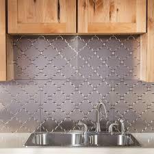 fasade kitchen backsplash panels fasade monaco brushed nickel backsplash panel free shipping on