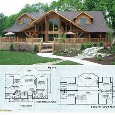 log cabin plan log cabin house plans with photos single story open floor plan