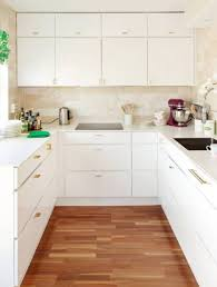 white kitchen cabinets white cabinets with hardwood floors white
