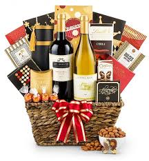 send gift basket christmas wine baskets wine gift baskets gifttree