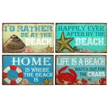 beach signs home decor vintage beach decorcustom vintage signs coastal beach signs
