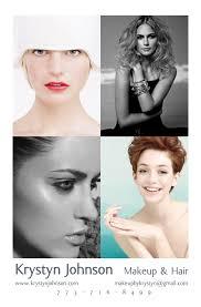 makeup artist portfolio handle your business makeup artist comp card krystyn j makeup