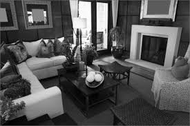Black And Grey Living Room Home Design Ideas - Living room design grey