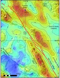 Newport Inglewood Fault Map Slip Rate On The San Diego Trough Fault Zone Inner California