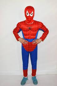 online shop red spiderman costume suit halloween costumes kids