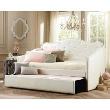 Leather Daybed With Trundle Daybeds Nebraska Furniture Mart