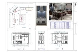 restaurant kitchen design layout samples interior design