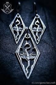 dragon necklace skyrim images 54 skyrim earrings 25 best ideas about skyrim jewelry on jpg