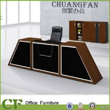 mobilier de bureau moderne design un design moderne table de réception avant de mobilier de bureau un