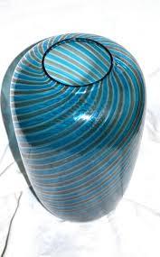 Striped Vase Striped Glass Vase From Venini For Sale At Pamono