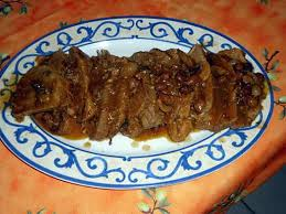 cuisiner une rouelle de porc recette de rouelle de porc et sa sauce madère