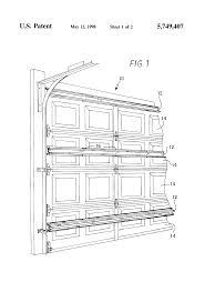 where to buy garage door struts patent us5749407 folding garage door with reinforcing struts