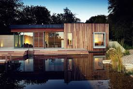 house design images uk tranquil forest house with a sustainable modern design in the uk