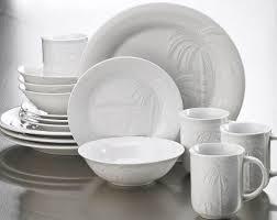 coastal dinnerware with seashells florida marketplace 16 pc