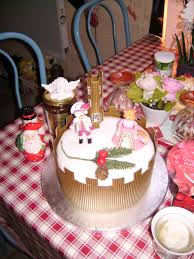 christmas cake letters and lunches from the loire