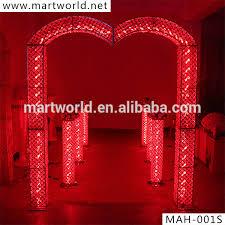 wedding arch lights 2018 rgb led light wedding decoration wedding arch wedding
