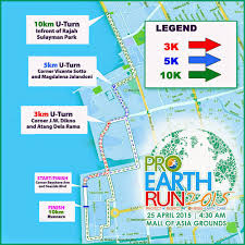 Moa Map The Intersections U0026 Beyond Pro Earth Run 2015 At Mall Of Asia