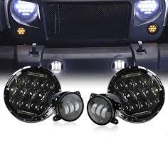 Jk Led Fog Lights Hid U0026 Led Fog Light Conversion Wires Wrangler Jk Xprite