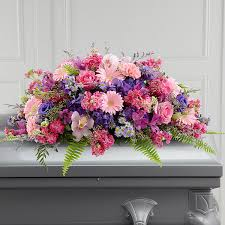 casket spray the ftd glorious garden casket spray