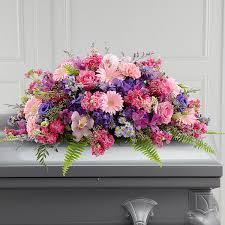 casket spray the ftd glorious garden casket spray