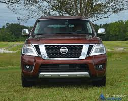 nissan armada light bar 2017 nissan armada platinum awd review u0026 test drive