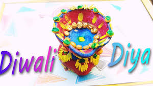 Home Decoration Ideas For Diwali How To Make Diya Decoration Ideas For Dipawali Diy Home Decore