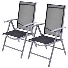 Patio Folding Chair Giantex Set Of 2 Patio Folding Chairs Adjustable