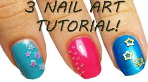3 nail art tutorial