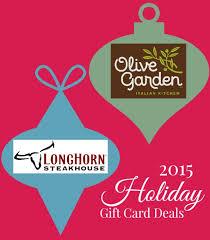 longhorn gift cards 2015 gift card deals at olive garden longhorn steakhouse