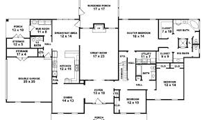 5 bedroom 1 story house plans 1 story 5 bedroom house plans impressive ideas 5 bedroom house