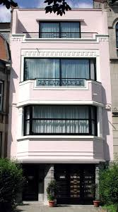 Art Deco Balcony by Four Bedroomed 1930s Art Deco House In Eastway Epsom Surrey