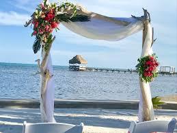 weddings sunset beach resort san pedro belize