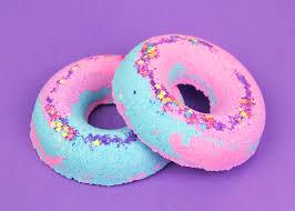 Rainbow Bathroom Accessories by Unicorn Donuts Bath Bomb Bath Bombs Bubble Bar Rainbow