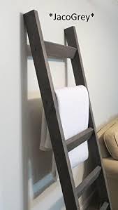 amazon com 6 ft blanket ladder rustic pine wood blanket ladder