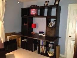 étagère Kallax Ikea 69 Idées Originales De L Utiliser Archzine Fr Kallax Bureau