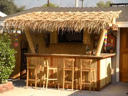 Outdoor Kitchen Roof Ideas by Tiki Roof Ideas Roofing Decoration
