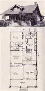 vintage house plans houses best arts crafts floor images on