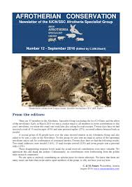 aardvark ecophysiology research project report