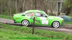 opel kadett rally car centraal nederland short rally mark en roy opel kadett c coupe