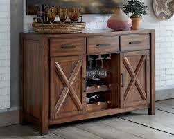 Dining Room Buffet Tables Sideboards Glamorous Dining Room Buffet With Wine Rack Rustic